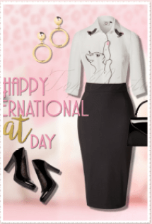 International Cat Lovers Day Shirt White