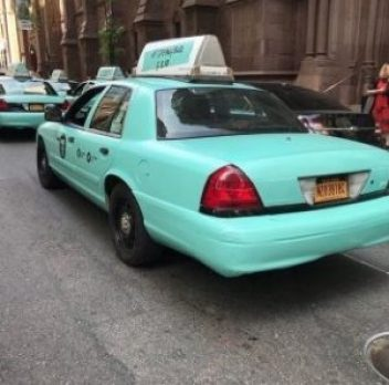 Tiffany Blue Cab