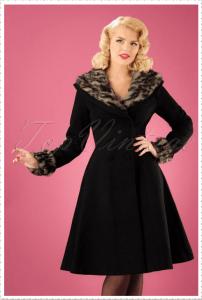 black woman coat