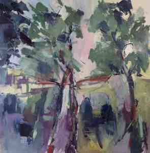 Two Trees by Audrey Imber