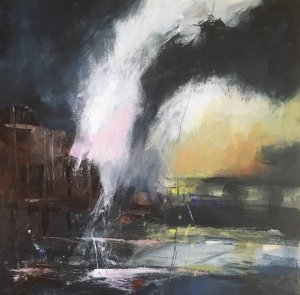 Night Harbour by Audrey Imber