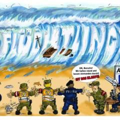 Innere Sicherheit beginnt beim Grenzschutz!