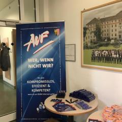 AUF/FEG: Wahlwerbung im BZS Linz