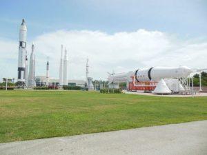 Cape Canaveral Ausstellung Raketen NASA