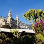 Mittelmeerlandschaft in Monte Carlo Monaco