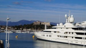 Festung Fort Carree in Antibes