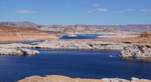 Blauer See Lake Powell in Arizona