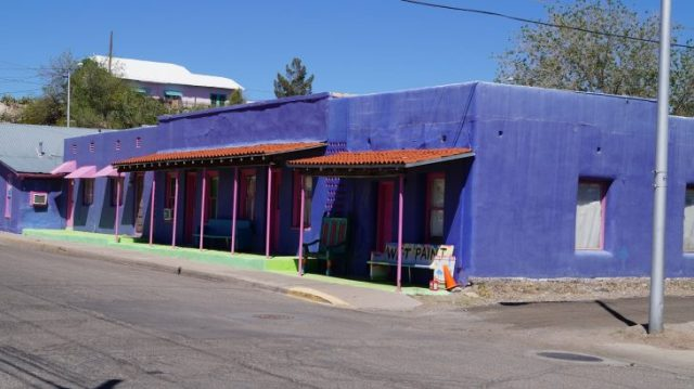 Hot Springs in Truth or Consequences, New Mexico