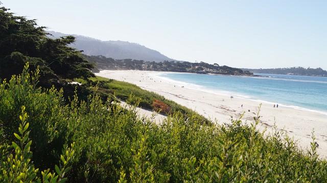 weißer Strand in Carmel