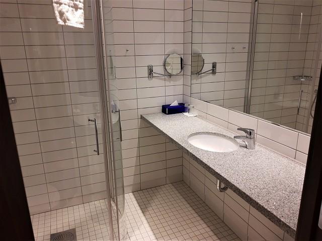 Badezimmer im Radisosn Blu Oslo Alna