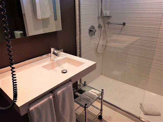 Badezimmer im Marriott Gran Canaria