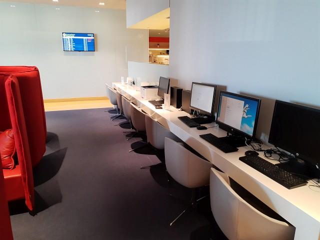 Computerarbeitsplätze in Aegean Lounge