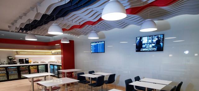 Essbereich Aegean Business Lounge Thessaloniki
