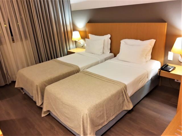 Betten im Mercure Lisboa Almada