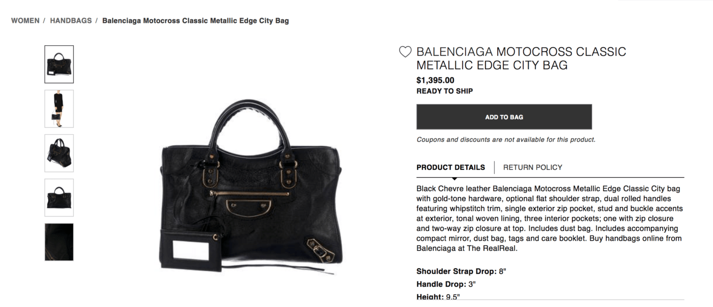 65a3a1caf7f The Balenciaga City Leather Comparison & Metallic Edge Buying Guide ...