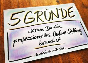 professionelles online Setting, Flipchart online nutzen, online Flipchart Training, Online Flipchartkurs