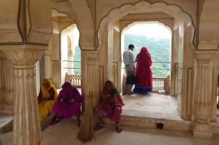 Indien_Jaipur_Amber_Inderinnen