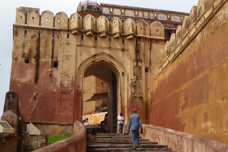 Indien_Jaipur_Amber_Treppe