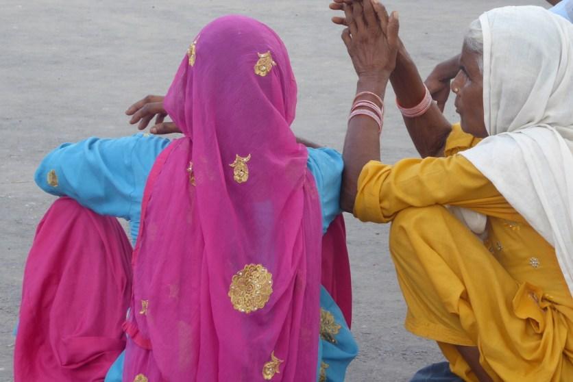 Indien_Triangle_Inderinnen