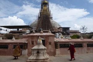 Kathmandu Erdbeben Baudinat Moench | aufmerksam reisen