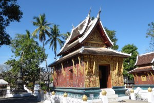 Laos LP Vat Palme | aufmerksam reisen