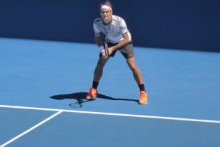 AustralianOpen-Federer-Grundlinie