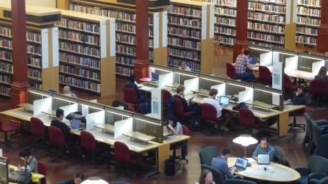 Australien-StateLibrary-Buchsaal