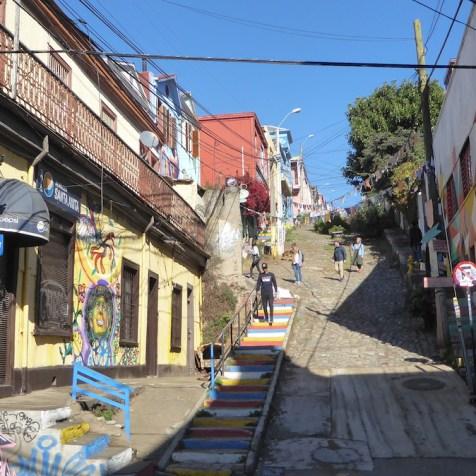 Chile-Valparaiso-Calle-Treppen