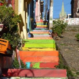 Chile-Valparaiso-Treppen