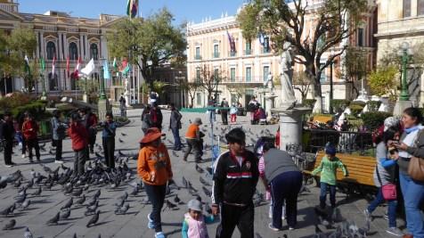 Bolivien-LaPaz-Plaza