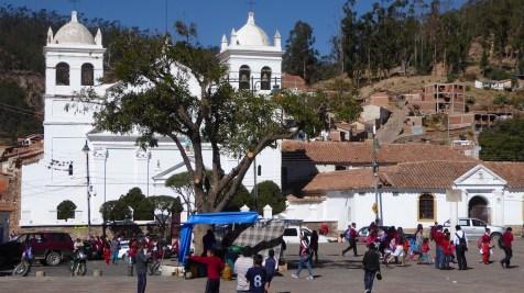 Bolivien-Sucre-PlazaRecoleta