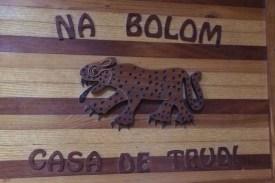 Mexiko-NaBolom-Schild