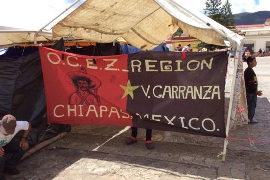 Mexiko-SanCristobal-Zapatisten-Camp
