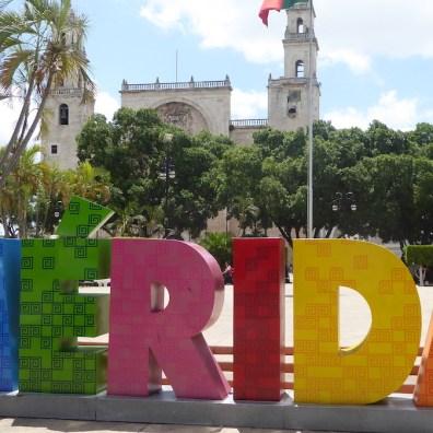 Mexiko-Merida-Plaza