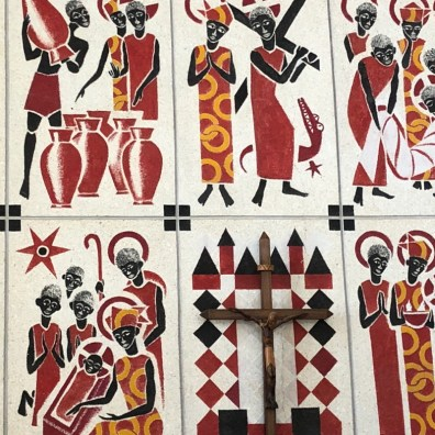 WeltreiseLogbuch-Senegal-Kirchenmalerei