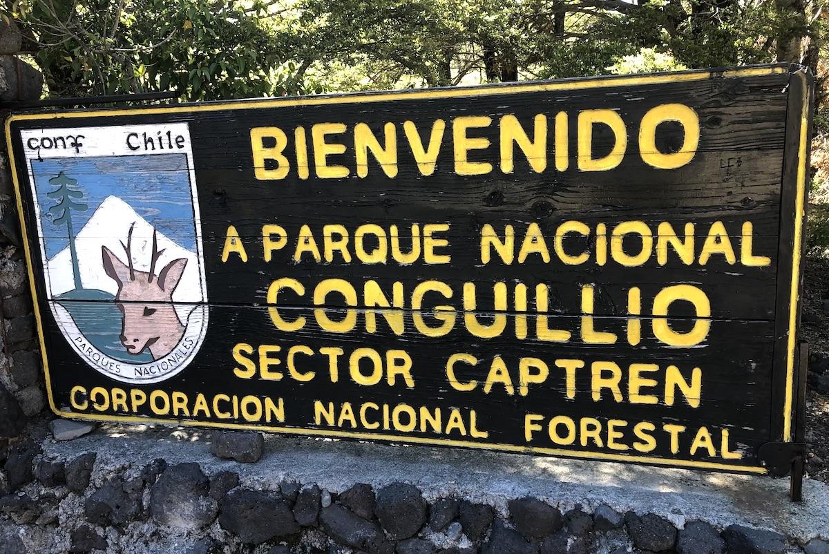Nationalpark Conguillio in Chile