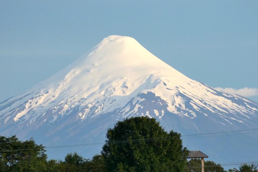 Blick auf den Vulkan Osorno