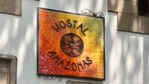 eiseBlog Chile HostalRioAmazonas Schild | aufmerksam reisen