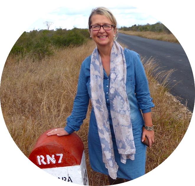 Elke Zapf auf Madagaskar während ihrer Weltreise