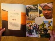 Weltreise-Magazin, Doppelseite Afrika