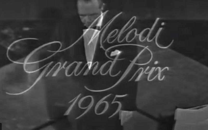 Melodi Grand Prix 1965: Nur die allerbeste Melkmaschine