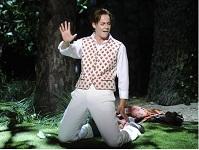 Malena Ernmann als König Xerxes in der Barockoper Serse