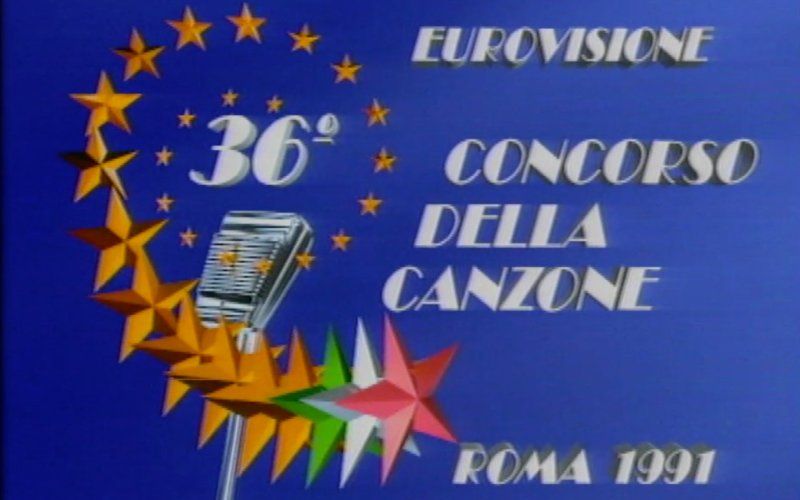 ESC-Finale 1991: Hier decke ich denTisch