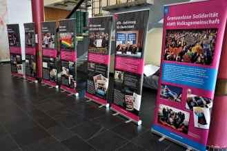 """Die VVN-BdA zeigt ihre Ausstellung zur AfD """"Keine Alternative! Eine kritische Auseinandersetzung mit der AfD"""""""