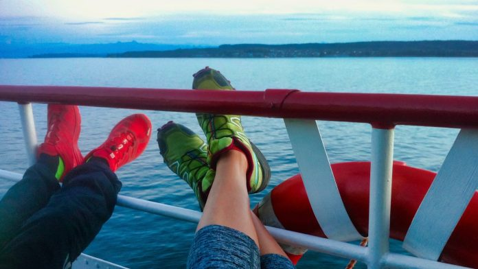 Wanderweg Seegang: auf dem Schiff zurück nach Konstanz