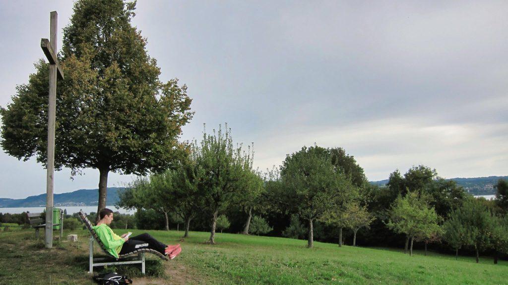 Pause bei Dingelsdorf