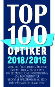 TOP 100 Optiker Logo