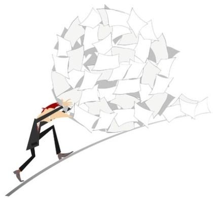 Obligation du tri de déchets de papier