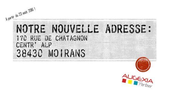 Nouvelle adresse Moirans