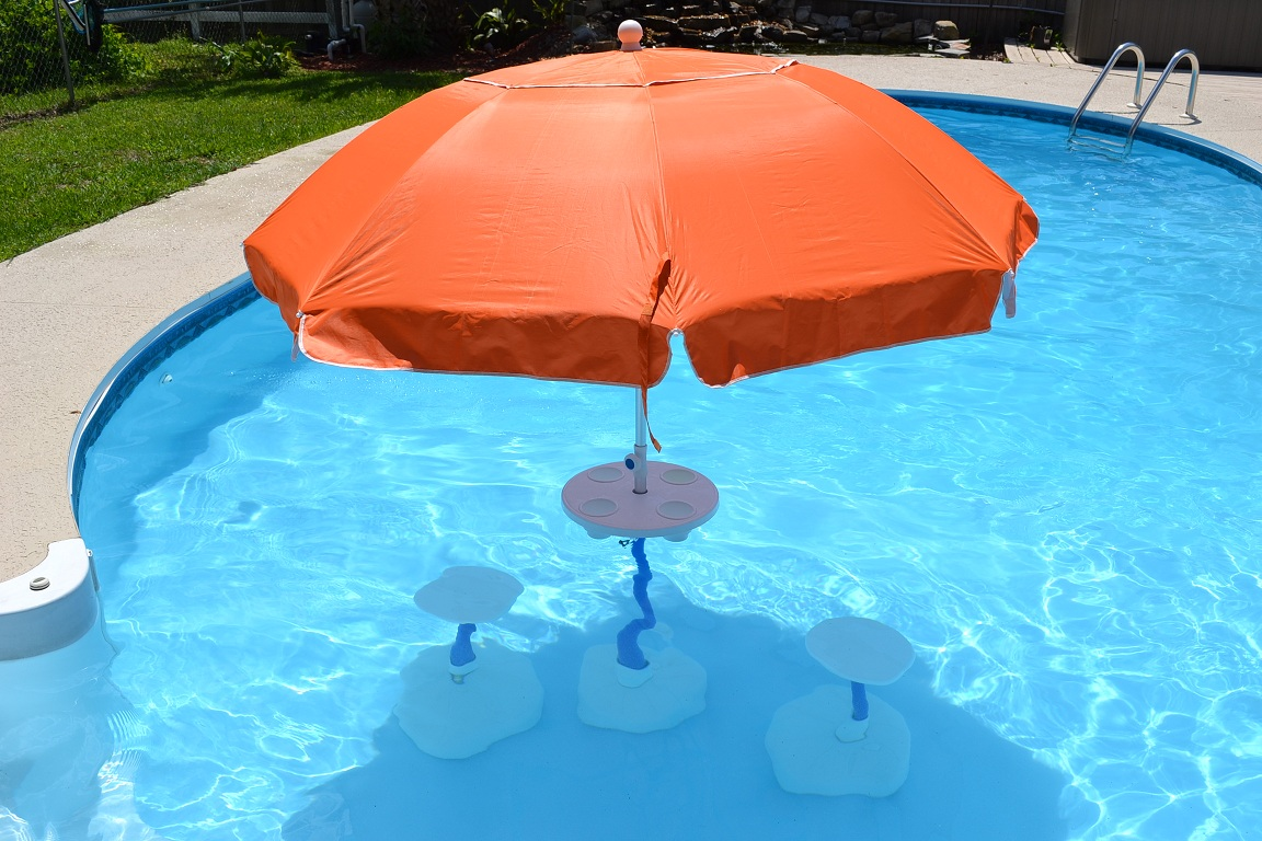 Diy Pool Stool Bar Stools Swim Up Beautiful Pools Houses ...